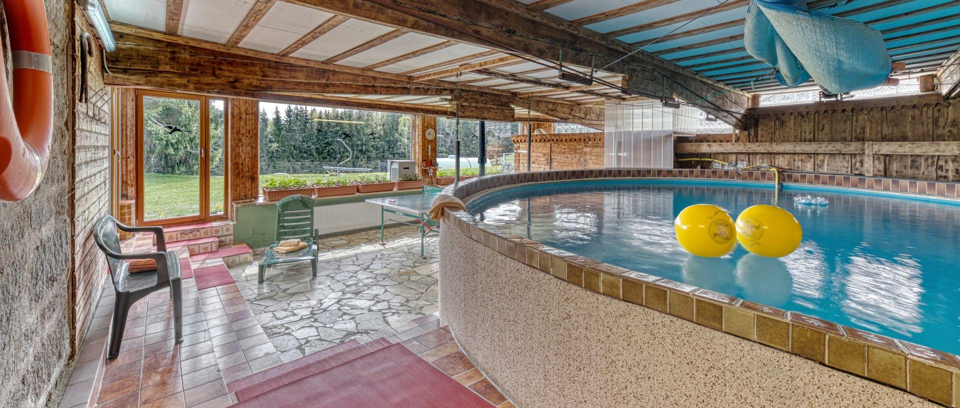 Wellness Hallenbad & Sauna