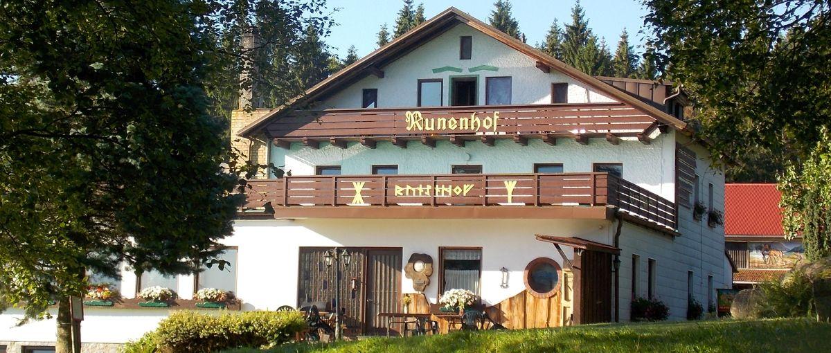 Pension Runenhof Bayerischer Wald Ferienhaus Ansicht